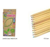 ds Confezione 12 Pezzi Matite Colorate Colori Bambini Scuola Disegno idea
