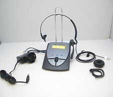 PLANTRONICS S12 NOISE CANCELLING TELEPHONE HEADSET SYSTEM with FIREFLY INDICATOR