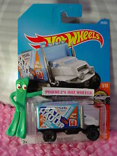 New BAJA HAULER #179✰White Cab/Blue box✰HW HOT TRUCKS✰2017 i Hot Wheels Case H