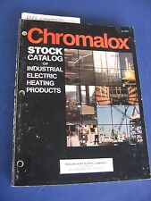 Chromalox Heating Products 1983 Catalog Emerson Electric Asbestos