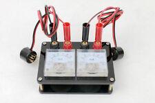 Doppio amplificatore tubo strumento compensazione Tester Misuratore Adattatore per EL84 7189 6BQ5 6P1