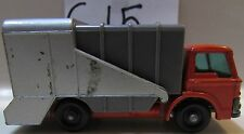 MATCHBOX LESNEY REFUSE TRUCK - MADE IN ENGLAND LOOSE