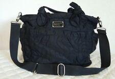 Marc By Marc Jacobs Black Nylon Pretty Elizababy Diaper Bag Handbag $298
