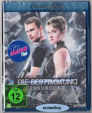 """DIE BESTIMMUNG - INSURGENT"" - SciFi Action - BLU RAY - 3D + 2D - Lenticular Ed."