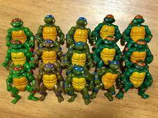 (15) 1988 Vintage Playmates TMNT Ninja Turtles Figure Figures Lot Collection