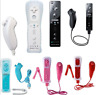 Remote and Nunchuck 5Colors Controller WITH Motion Plus inside For NINTENDO WII*