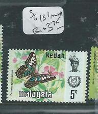 MALAYA KEDAH (PP3007B) BUTTERFLY SG 131 HARRISON 5C   MNH