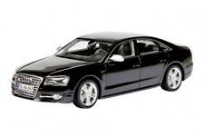 Audi S8 en Havanna Negro Modelo Coche en 1:43 Escala de Schuco