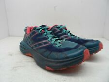 Hoka One One Women's Speedgoat 2 Running Shoes Peacoat/Ceramic Size 7.5M