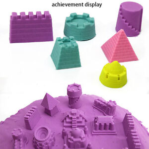 Bright Colors 6Pcs Cute Sand Castle Building Model Mould Beach Toys Children Toy