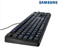 Samsung Electronics Gaming Keyboard AA-KW1AUWB Black Keypad Computer Home_NHJK N