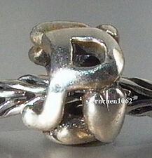 Original Trollbeads * P- Bead * Letter Bead * 925 Silber