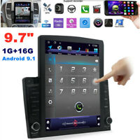 "9.7"" 1Din Android 9.1 HD Quad-core WiFi 1G+16G Car Stereo Radio GPS MP5 Player"