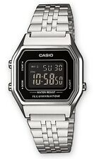 Casio LA-680WEA-1B Orologio Donna polso Vintage Crono Sveglia Luce 5anni Deal