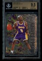1996-97 Fleer Metal Kobe Bryant Rookie BGS 9.5 Gem Mint RC #181 LA Lakers