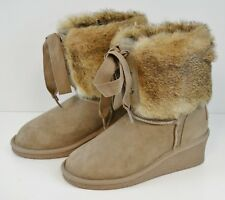 Koolaburra Chestnut Boots By UGG Size 5 US Women's Sheep  Skin and Real Fur