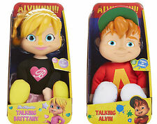 Alvin and the Chipmunks Talking Dolls Brittany Set of 2 ~BRAND NEW~
