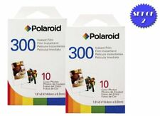 2 Pack Of Polaroid PIC-300 Instant Film for PIC 300 Camera