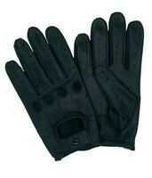 MEN'S REAL SHEEP NAPPA LEATHER DRIVING GLOVES