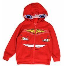 Disney Pixar Cars Toddler Boy's Lightening McQueen Red Full Zip Hoodie Sz. 2T