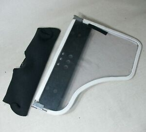 FLIP AWAY HALF LAP TRAY TABLE CLEAR LEFT ARM 17.5 x 13 FROM INVACARE TDX SP