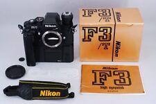 【NEAR MINT in BOX】Nikon F3/T Titan 35mm SLR Camera w/ MD-4 AS-4 From Japan #116