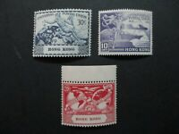 Hong Kong #180-82 Mint Never Hinged (M6T8) WDWPhilatelic