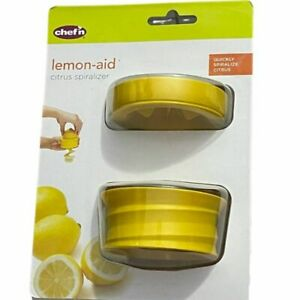 Chef'n Lemon-Aid Citrus Spiralizer / Spiral Slicer Lime Brand New