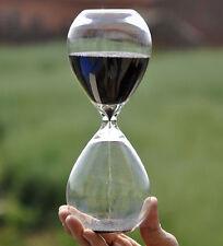 Large Sand Egg Hourglass Timer 10 Minute SEN ADHD ASD Teacher Cooking Black NEW