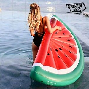 Flotador GIGANTE hinchable Piscina playa Colchon colchoneta SANDIA tumbona