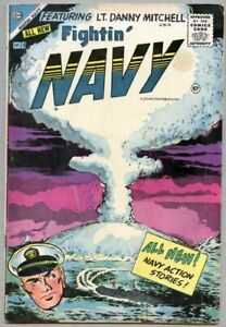 Fightin' Navy #74-1956 vg+ 4.5 1st issue of the series / Atomic Bomb cover/story
