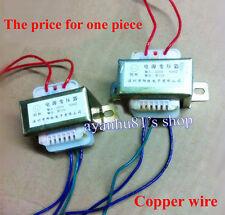 AC 220V 50Hz to Dual AC 12V 5W Transformer for Headphone Amplifier Pre AMP Board
