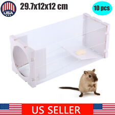 10pcs Humane Rat Trap Cage Live Pest Animal Rodent Mice Mouse Control Bait Catch