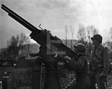 1945 German Anti Aircraft Gun US Army WWII Photo FL87