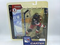 RARE Anson Carter McFarlane 3rd Jersey New York Rangers Action Figure NHL Hockey