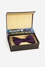 11th Doctor Who Purple Bow Tie 50th Anniversary Cosplay Replica Prop Abbyshot
