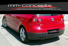 Originale VW Golf 5 V GTI Heckschürze Stoßstange GT TDI ABS ED30