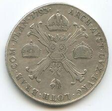 GB1149 - RDR Öst.Niederlande 1 Kronentaler 1793 A Wien KM#62.1 RAR Franz II.