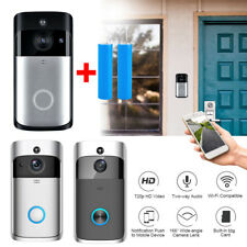 Smart Video Wireless WIFI 720P Door Bell IR Visual Camera Record Security System