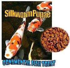 Silkworm Pupae 5Lbs-Ornamental Fish Koi-Turtles -Reptiles