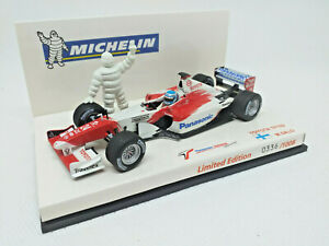 MINICHAMPS 1/43 - PANASONIC TOYOTA RACING Toyota TF102 M. Salo MICHELIN