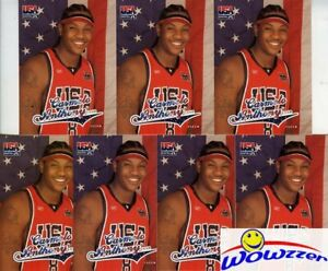 (35) 2003/04 Fleer USA Olympics Carmelo Anthony ROOKIE Card Lot MINT!  KNICKS