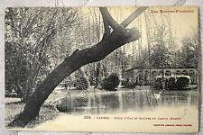 """CPA """" TARBES - Pièce d'Eau et Cloître du Jardin Massey"""