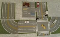 """My TOWN"" Play Driving Road & PARKING LOT For Hot Wheels Matchbox Track BuilderS"