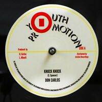 SEALED NEW 12 INCH Don Carlos - Knock Knock; Knock Knock Version  /  Sugar Minot