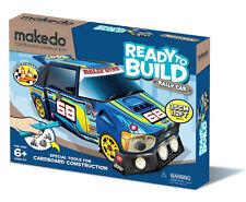 Makedo prêt à construire Rallye Kit Voiture Brand New Age 6+ 35 cm Long comprend outil!