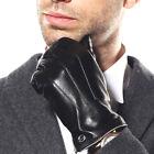 ELMA Men's Touchscreen Texting Winter Leather Gloves EM011NZ1