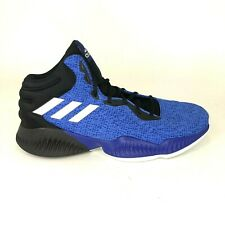 adidas Mens Size 12 Mad Bounce 2018 Blue Basketball Shoes Mid AC7428