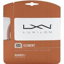 Luxilon Element Tennis String 1.25mm Bronze - Bundle of 4