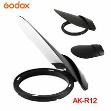 Godox AK-R12 Bounce Card Diffuser Plate for Godox Round Flash Head